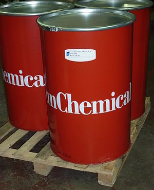 Sun Chemical - 200 kg containers of Sun Chemical's web offset printing black ink