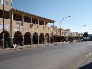 Colesberg - Another view of part of the main street