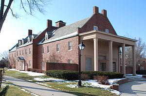 The Dearborn Inn - Colonial building on the Dearborn Inn campus