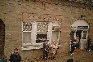 Columbus station - Image: Columbus Wisconsin Amtrak station