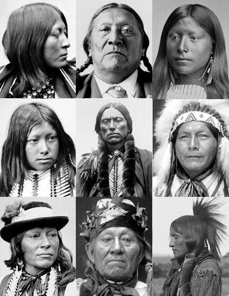 Comanche portraits