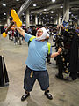 Comikaze Expo 2011 - Finn from Adventuretime (6325366598).jpg