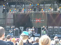 Communic beim Summer Breeze 2007