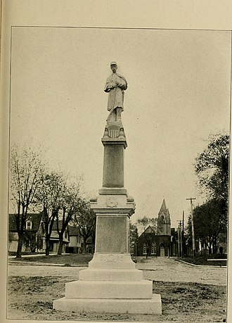Brookfield, Missouri - Brookfield Civil War Monument