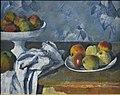 Compotier, assiette et pommes, par Paul Cézanne.jpg