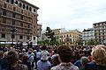 Concentració per les víctimes de l'accident de MetroValència, 3 de juliol, 2014.JPG