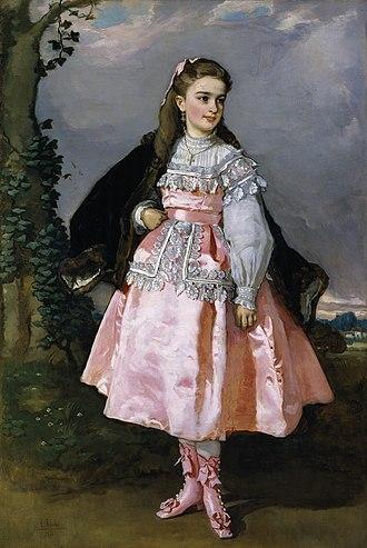 Eduardo Rosales - Image: Conchita Serrano Dominguez Eduardo Rosales 1871