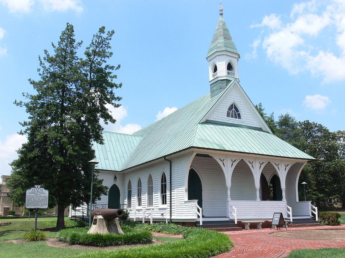 Confederate Memorial Chapel Wikipedia
