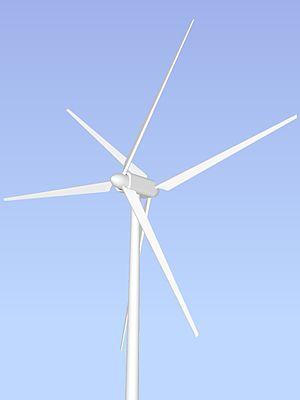 Unconventional wind turbines - Counter rotating wind turbine (dual rotor)