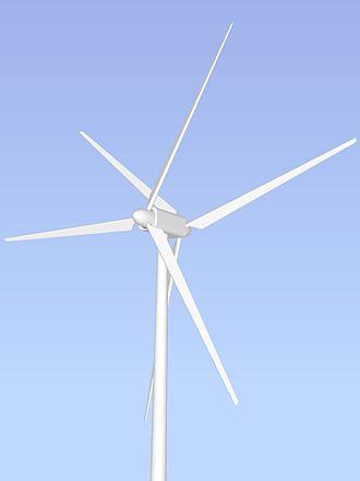 Unconventional wind turbines - Counter-rotating wind turbine (dual rotor)
