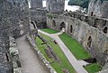 Conwy Castle - The Outer Ward - geograph.org.uk - 1480476.jpg