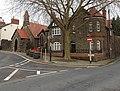 Corner of Castle Street and High Street, Caerleon (geograph 3801080).jpg