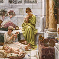 Corner of the marketplace, by Edward John Poynter.jpg