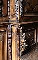 Coro ligneo forse dai carmelitani di somma lombarda, xvii secolo 03 bambocci.jpg