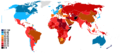 Corruption Perception index 2013.png