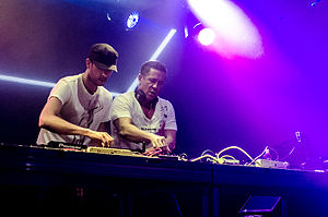Cosmic Gate - Image: Cosmic Gate performing at the Rupublik in Honolulu, Hawaii