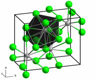 Barium chloride - Image: Cotunnite structure