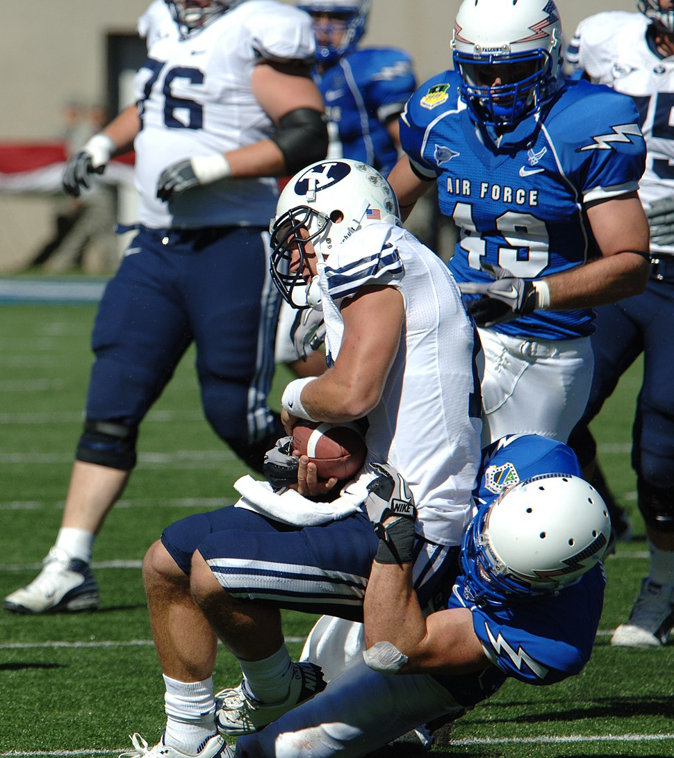 Cougars on offense at BYU at Air Force 2010-09-11