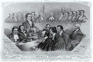 Lewis Thomas Drummond - Lewis T. Drummond (standing) in 1855