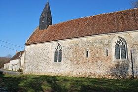 Vue de l'église de Courthioust : https://fr.wikipedia.org/wiki/Ancienne_%C3%A9glise_de_Courthioust