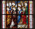 Coutances Cathédrale Notre-Dame Vitrail Baie 218 Lancette gauche 4e registre - groupe des confesseurs et des martyrs 2014 08 25.jpg