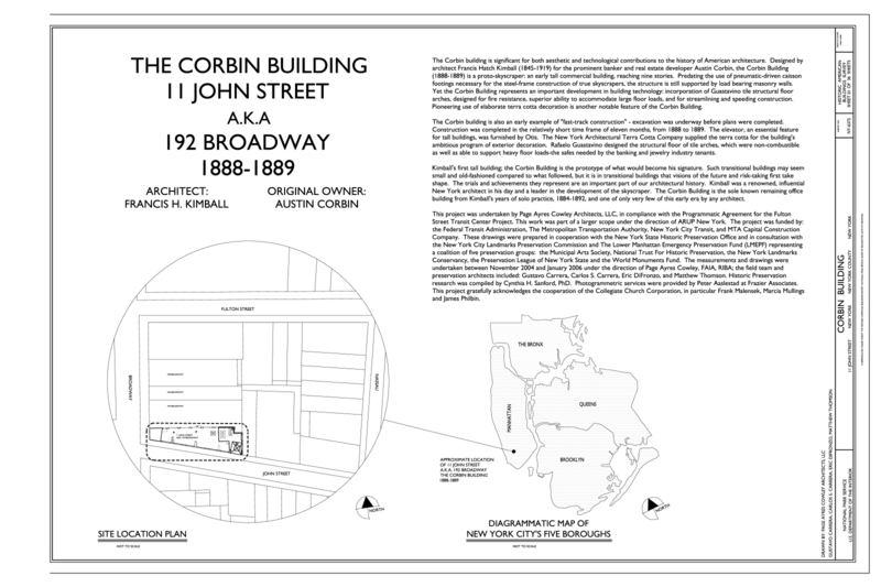 FileCover Sheet and Site Plan Corbin Building 11 John Street – City Of Austin Site Plan Application