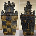Covered mortuary urn from Okinawa, Honolulu Museum of Art 5854.1-.2.jpg