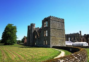 Cowdray House - Cowdray Ruins