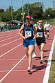 Cpl Byrne DFPES leads from Pte Rodger12Bn in the Mens 5000M (4664598768).jpg