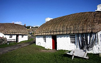 Cregneash - Image: Cregneash Harry Kellys Cottage