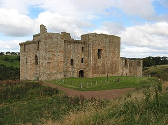Jean Hepburn - Crichton Castle, birthplace of Jean Hepburn