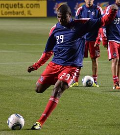 Cristian Nazarit Chicago Fire 2011.jpg