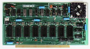 Cromemco Bytesaver - Cromemco 8K Bytesaver (1976)