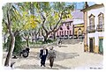 Croquis aquarellé- Faro - Portugal (5526334037).jpg