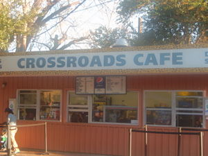 San Antonio Zoo - Several refreshment outlets, including Crossroads Café, are available at the San Antonio Zoo.