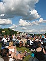 Crowds at the Cornbury Music Festival - geograph.org.uk - 489511.jpg
