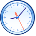 Crystal Clear app clock.svg
