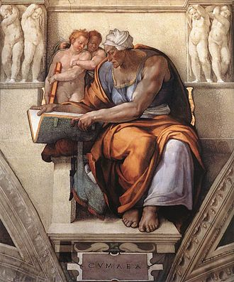 Cumaean Sibyl - Image: Cumaean Sibyl By Michelangelo