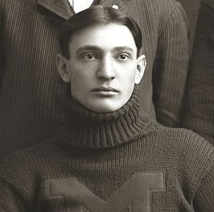 1918 Michigan Wolverines football team - Curtis Redden's letter from the front was published before the start of the 1918 season.