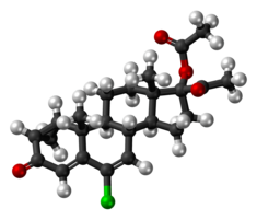 Cyproterone acetate molecule ball.png
