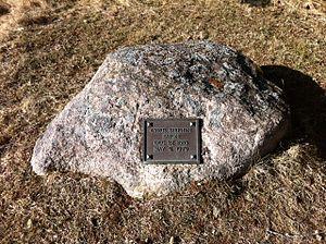 Cyrus S. Eaton - Cyrus Eaton Gravesite of his ashes, Deep Cove, Nova Scotia