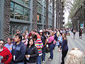 D23 Expo 2011 - lining up as far as you can see for D23 (6075260055).jpg
