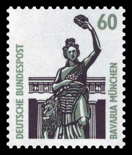 Datei:DBP 1987 1341 Bavaria München.jpg