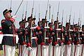 DESTACAN LABOR DE LAS FUERZAS ARMADAS EN CEREMONIA POR 150 ANIVERSARIO DE COMBATE DEL 2 DE MAYO (26711904791).jpg