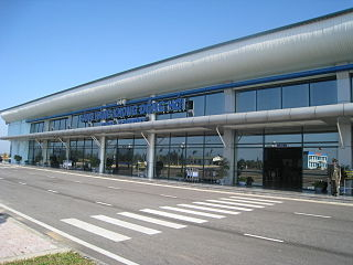 Dong Hoi Airport airport located in Loc Ninh commune, Vietnam