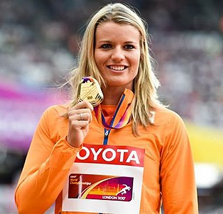 Dafne Schippers Dutch track and field athlete