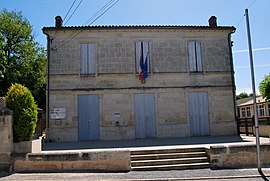 The town hall in Daignac