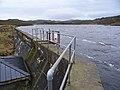 Dam at Kilduskland Reservoir - geograph.org.uk - 312784.jpg