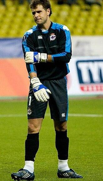Daniel Aranzubia - Aranzubia with Deportivo in 2008