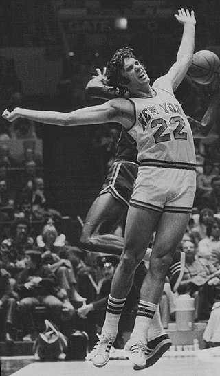 DeBusschere was named to the First Team All-Defensive Team every season of his career after the inception of the designation. Dave DeBusschere 1972.jpeg